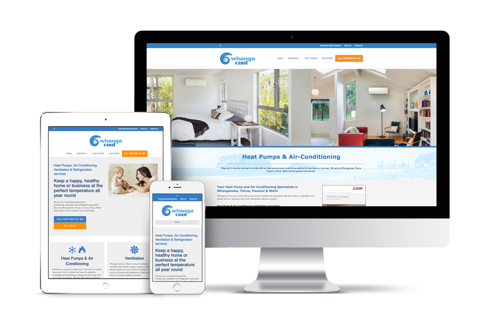 mobile responsive website design auckland