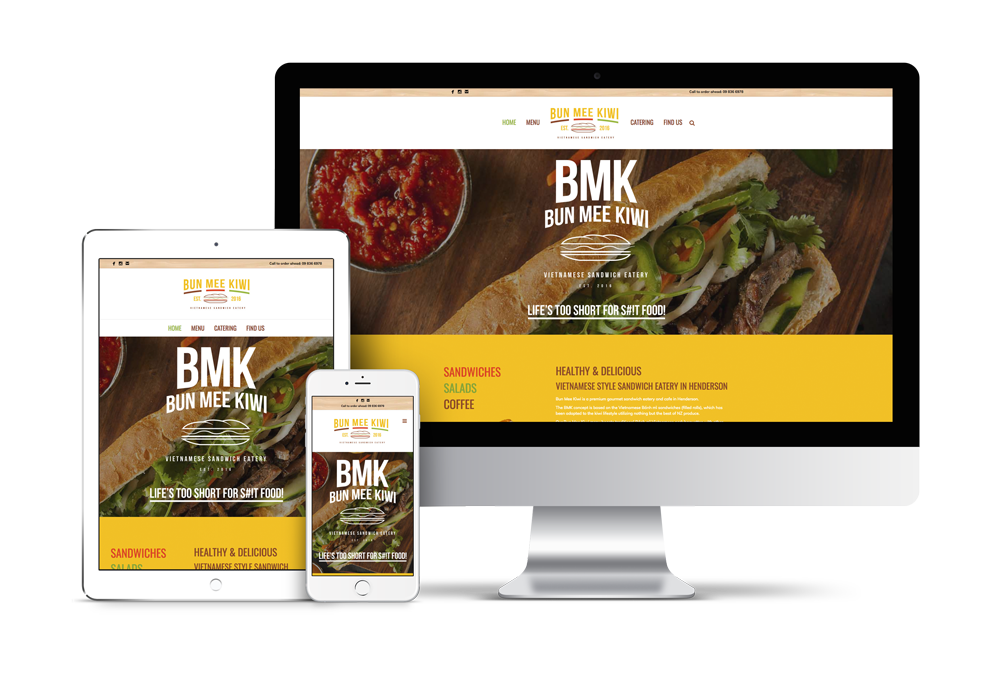restaurant website design auckland