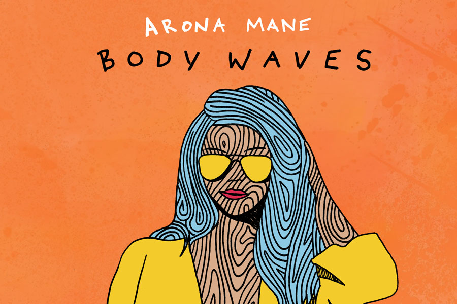 illustration single cover - arona mane
