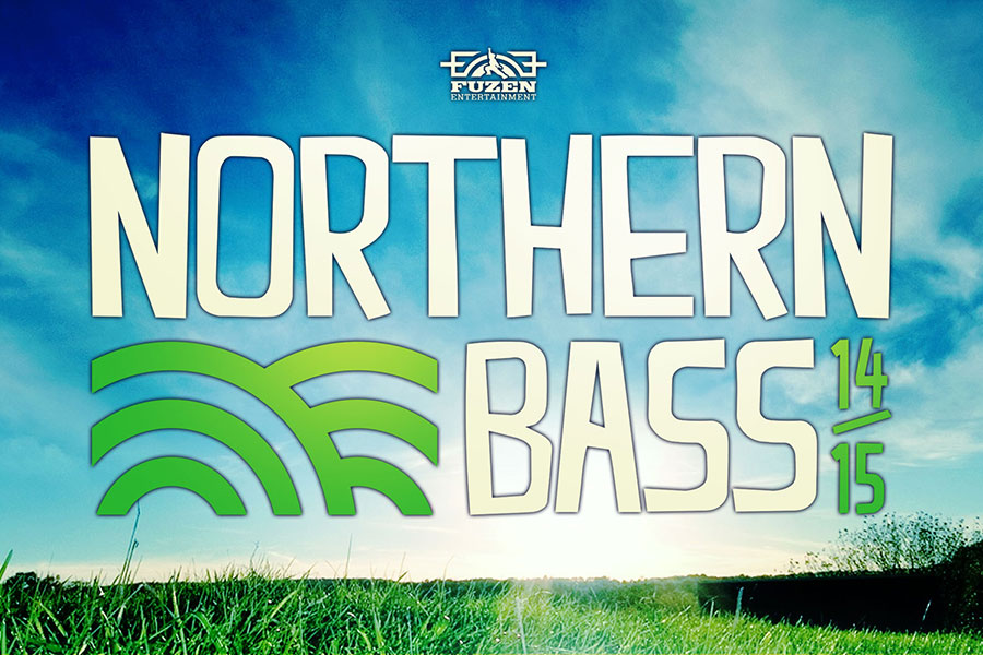 event poster design branding northern bass
