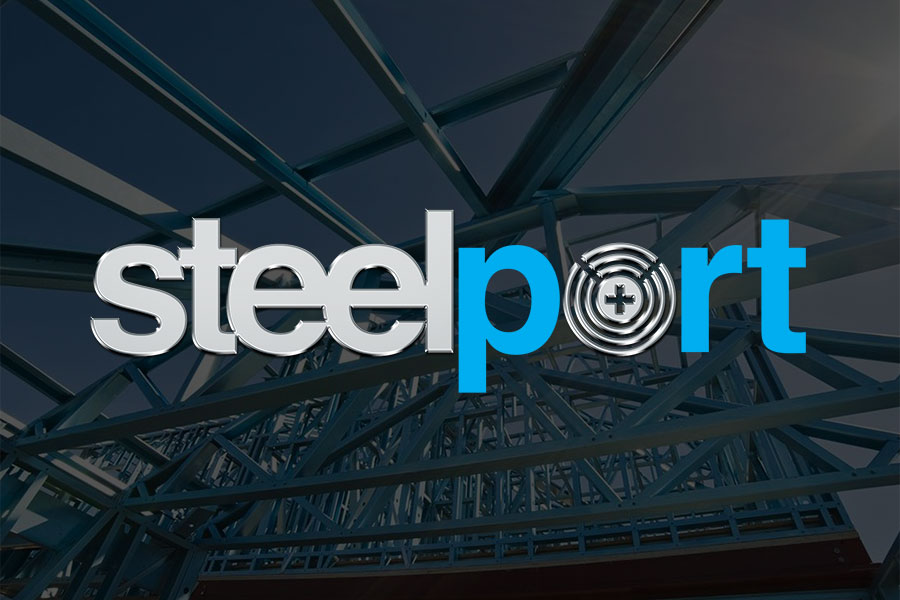 branding logo design - steelport