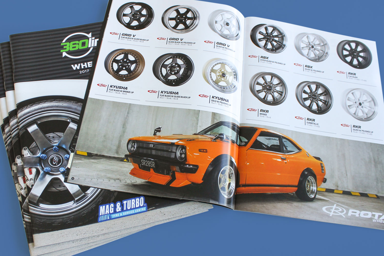 Catalogue Design - 360 Link Wheels