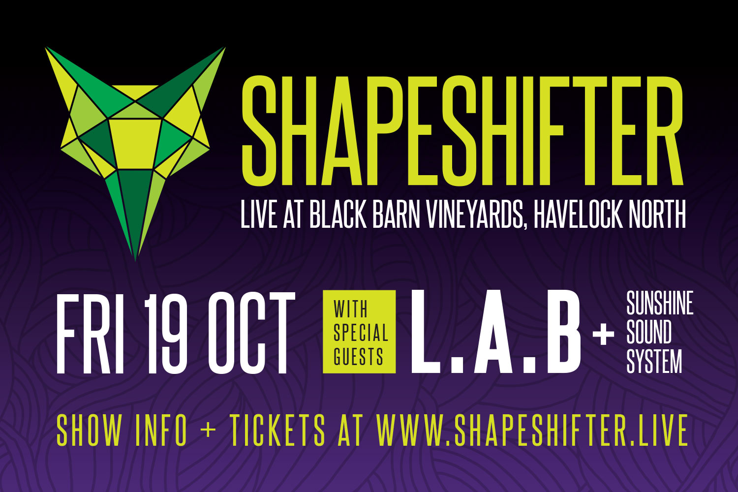Banner digital design - Shapeshifter