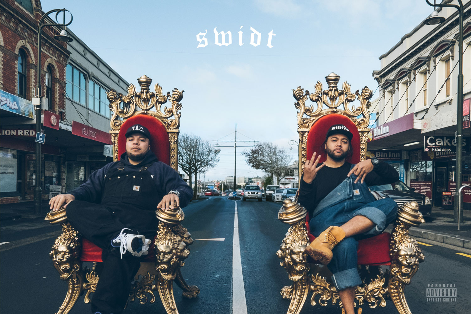 Album cover design - SWIDT